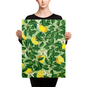 Lemonade II Canvas
