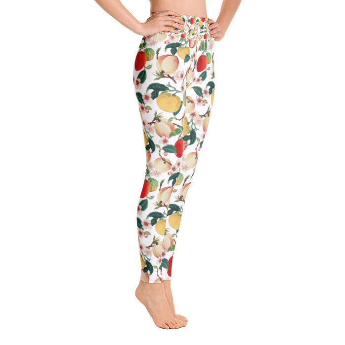 Fruity Summer Yoga Leggings