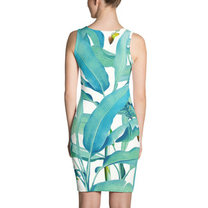 Banana Forest Sublimation Dress