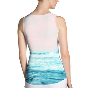 Sun. Sand. Sea. Sublimation Tank Top