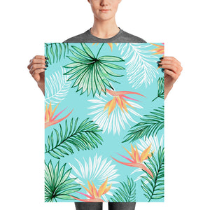 Tropic Palm Poster