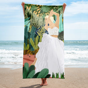 Forest Bride Towel