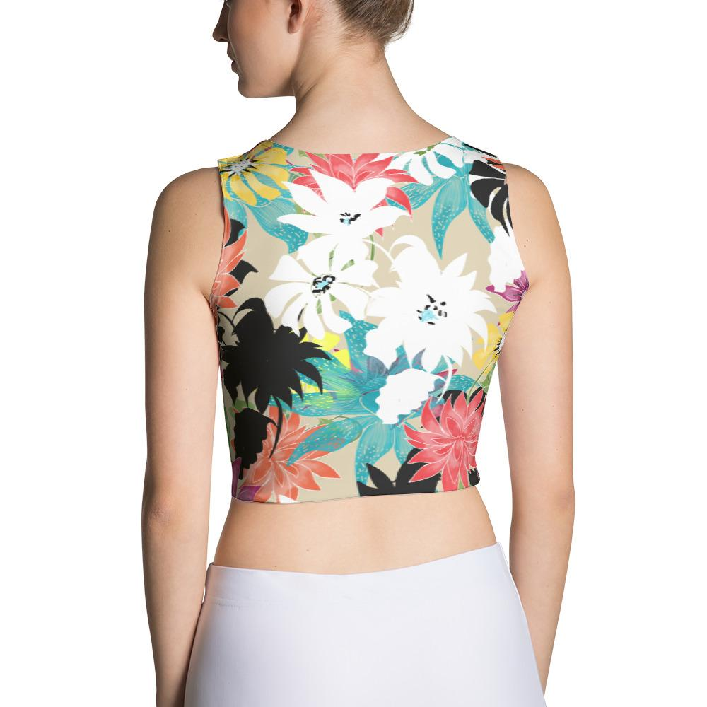 Dalia Sublimation Crop Top