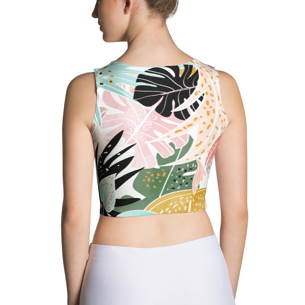 Veronica Sublimation Crop Top