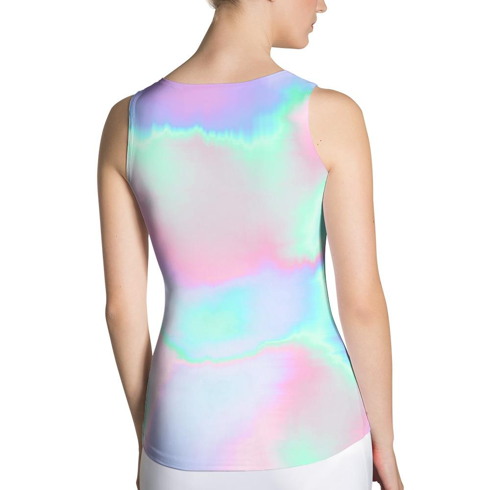 Holograph Sublimation Tank Top