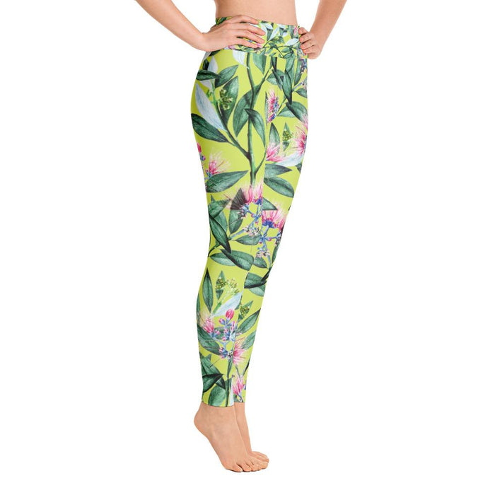 Floral Cure Yoga Leggings