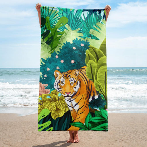 Jungle Tiger Towel