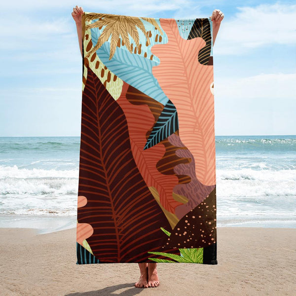 Earthy Forest Towel