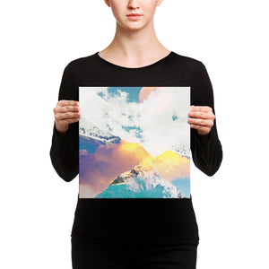 Dreaming Mountains Canvas