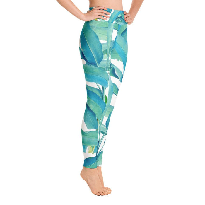 Banana Forest Yoga Leggings