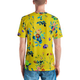 Floral Shower Men's All-Over T-shirt