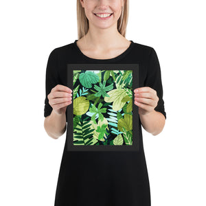 Rainforest II Framed Poster