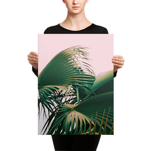 Palm Love Canvas