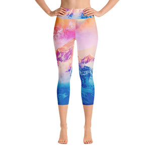 Another Dream Yoga Capri Leggings
