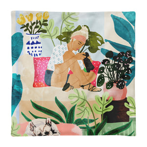 Miss Blogger Square Pillow Case only