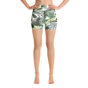 In The Jungle Yoga Shorts