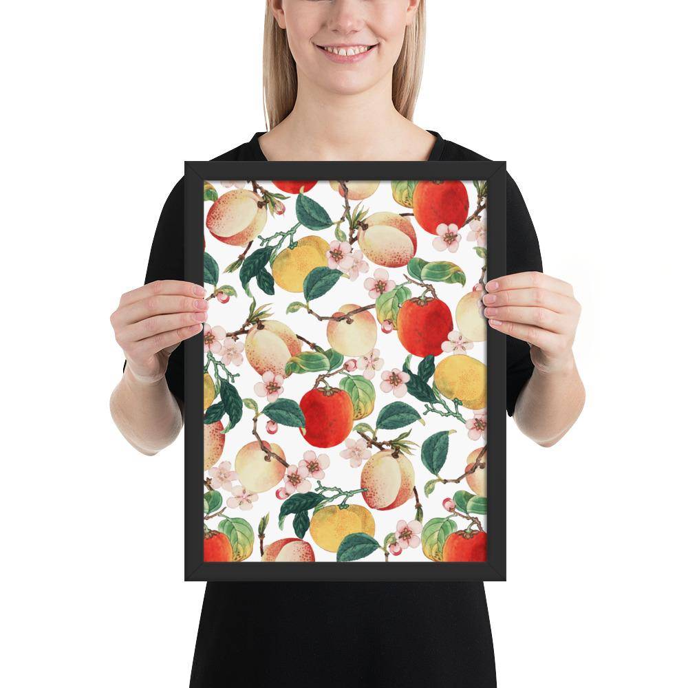 Fruity Summer Framed Poster