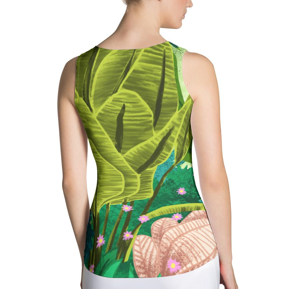 Jungle Tiger Sublimation Tank Top