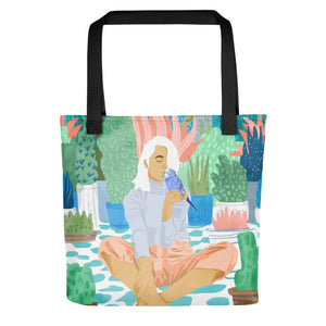 Early Love Bird Tote Bag
