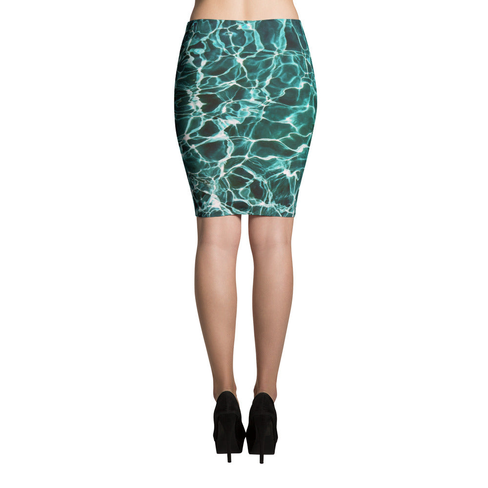 Waiting for Summer Pencil Skirt