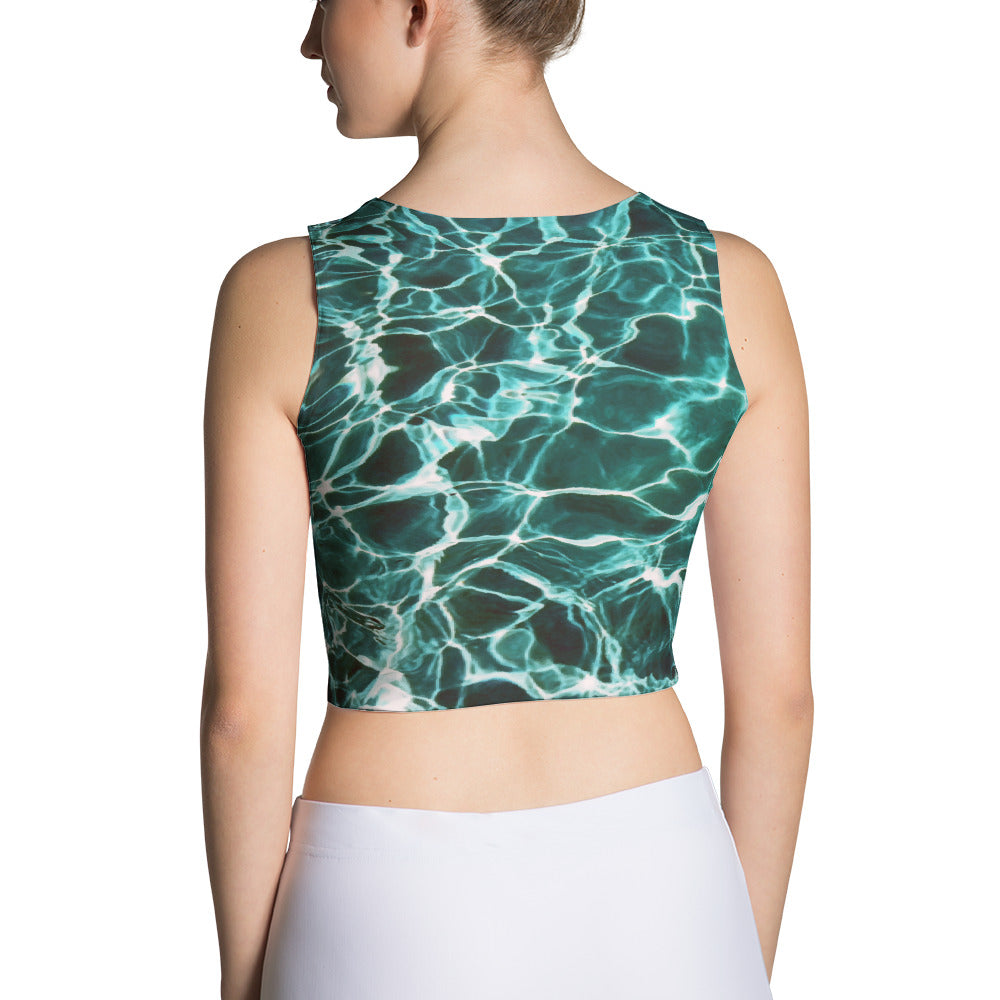 Waiting for Summer Sublimation Crop Top
