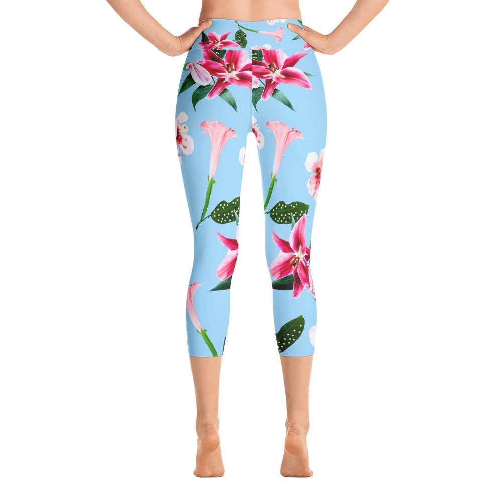 Oenomel Yoga Capri Leggings