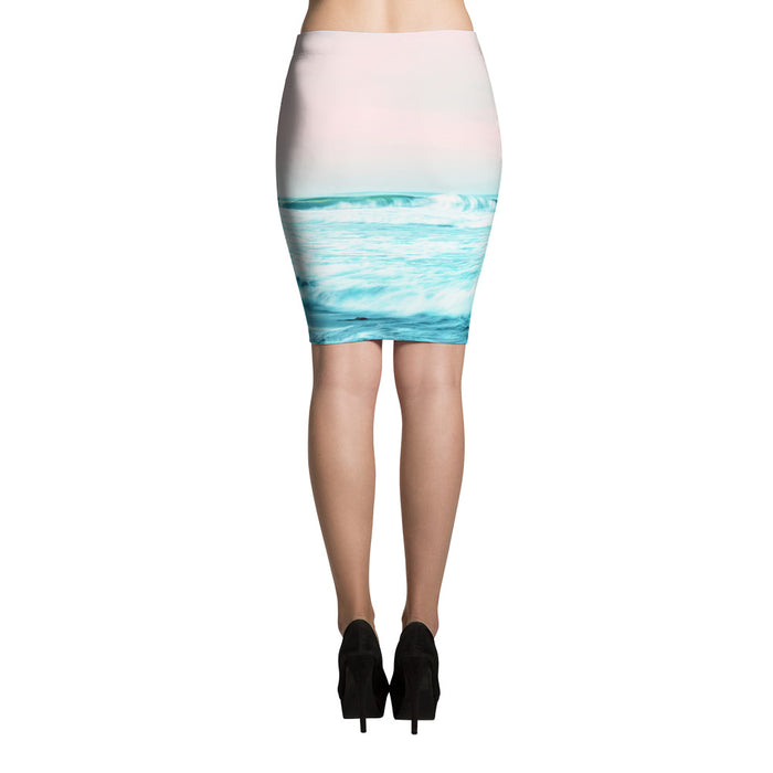 Sun. Sand. Sea. Pencil Skirt
