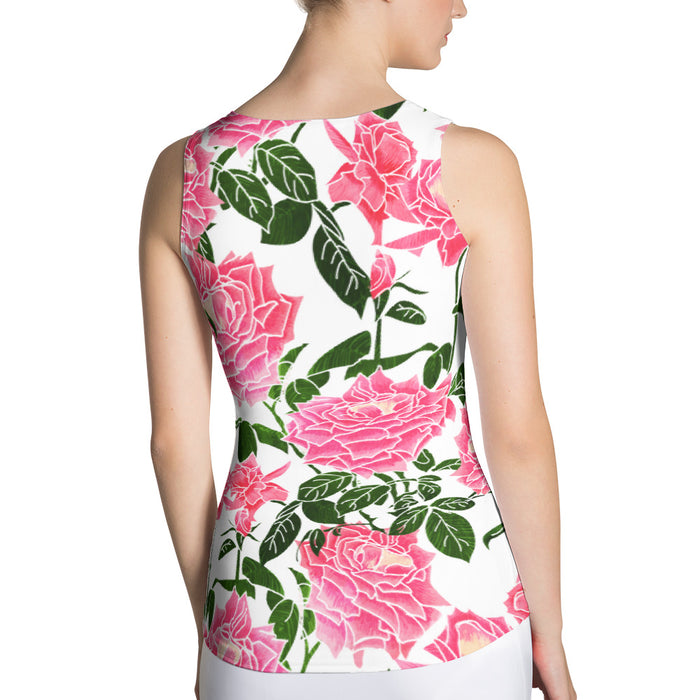 Rose II Sublimation Tank Top