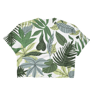 In The Jungle Ladies Crop Top