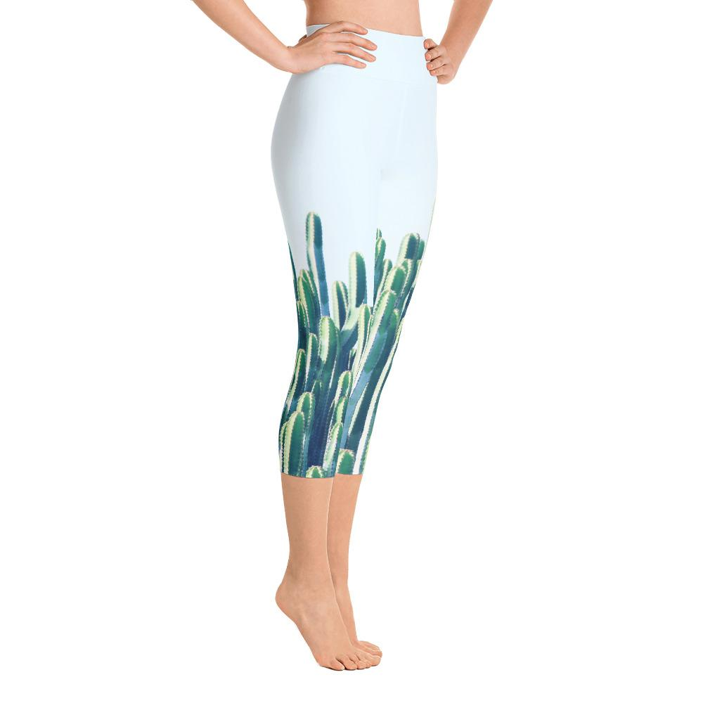 Cactus Yoga Capri Leggings