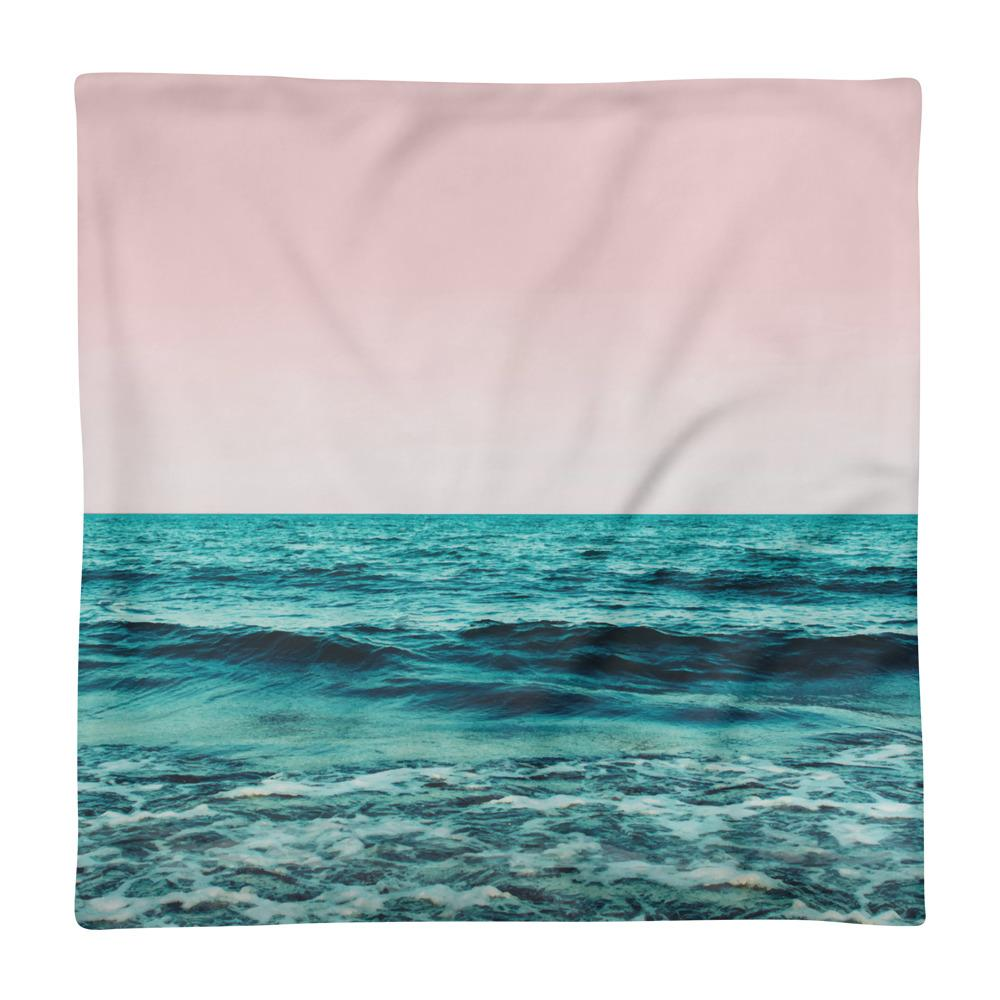 Ocean Love Square Pillow Case only