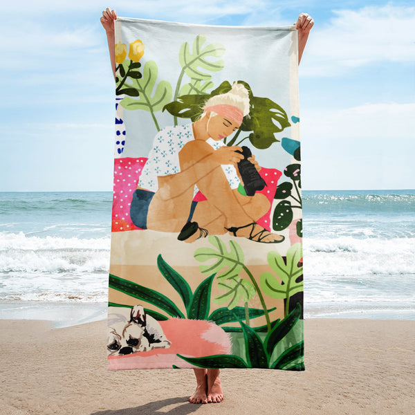 Miss Blogger Towel