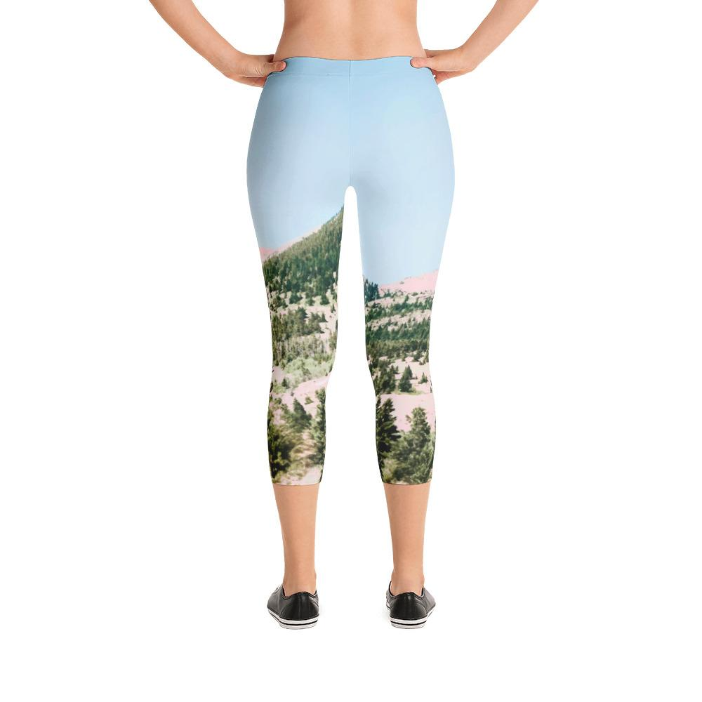 Happy Mountain Capri Leggings