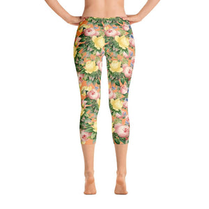 Flora Capri Leggings