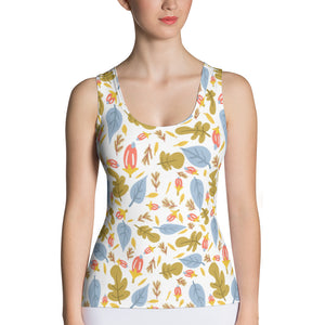 Leaflets Sublimation Tank Top