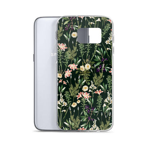 Dark Botanical Garden Samsung Case