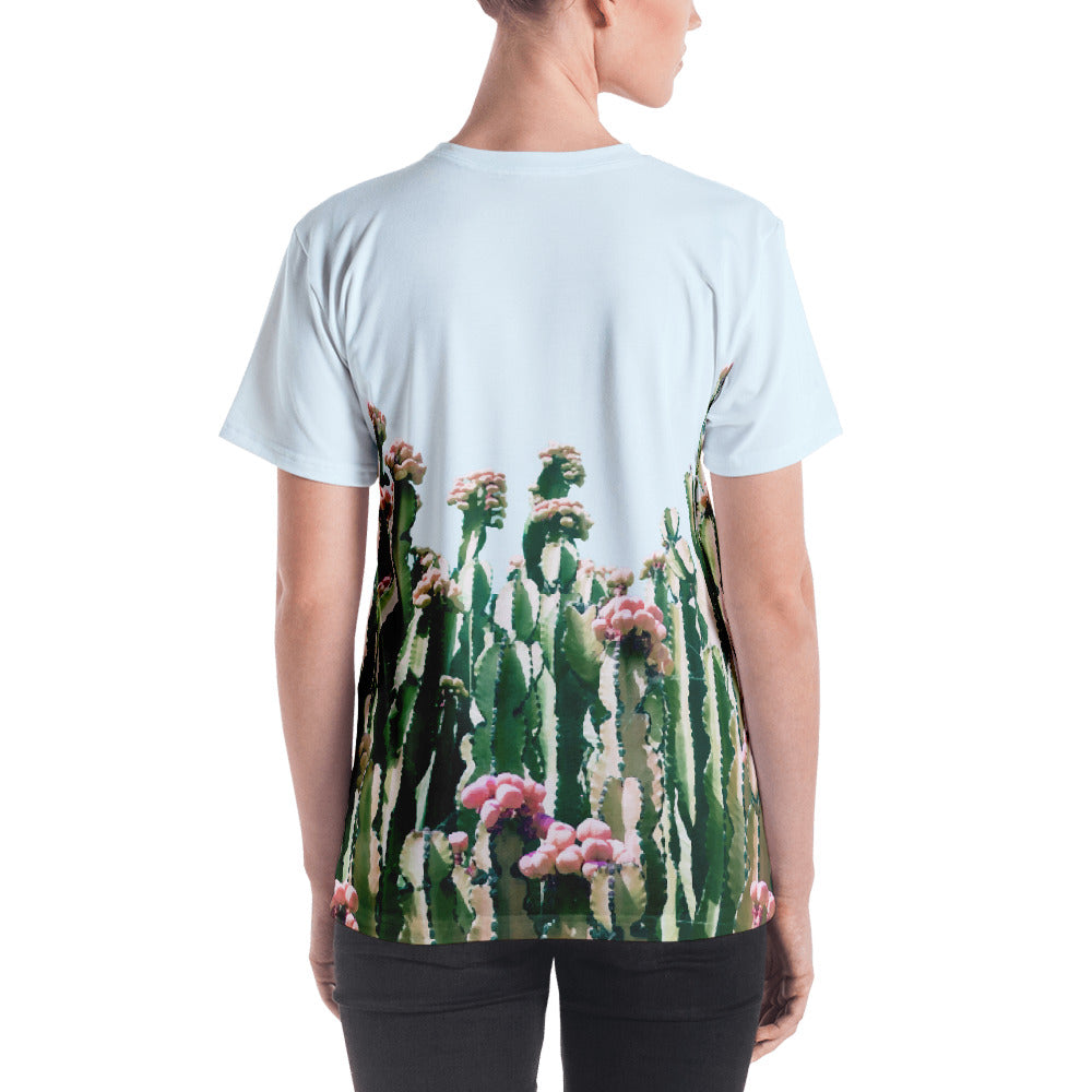 Blush Cactus Women's All-Over T-shirt