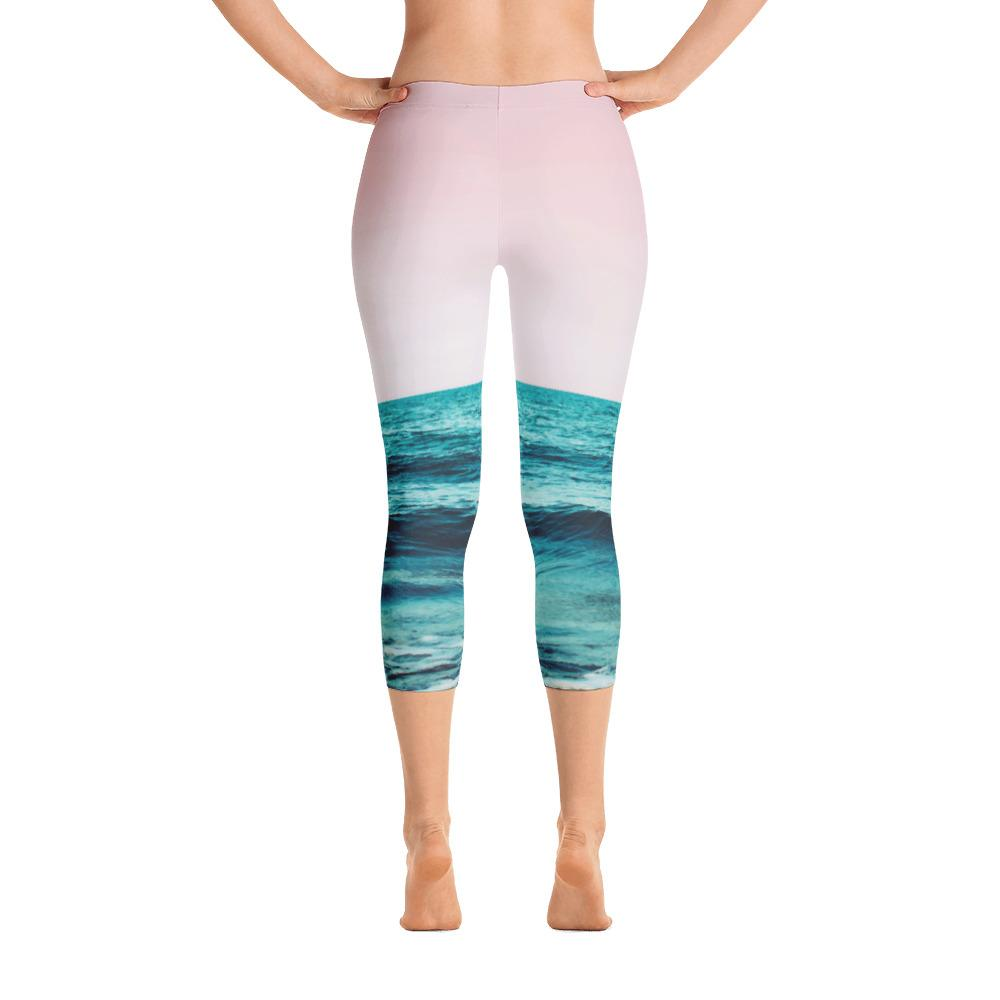 Ocean Love Capri Leggings