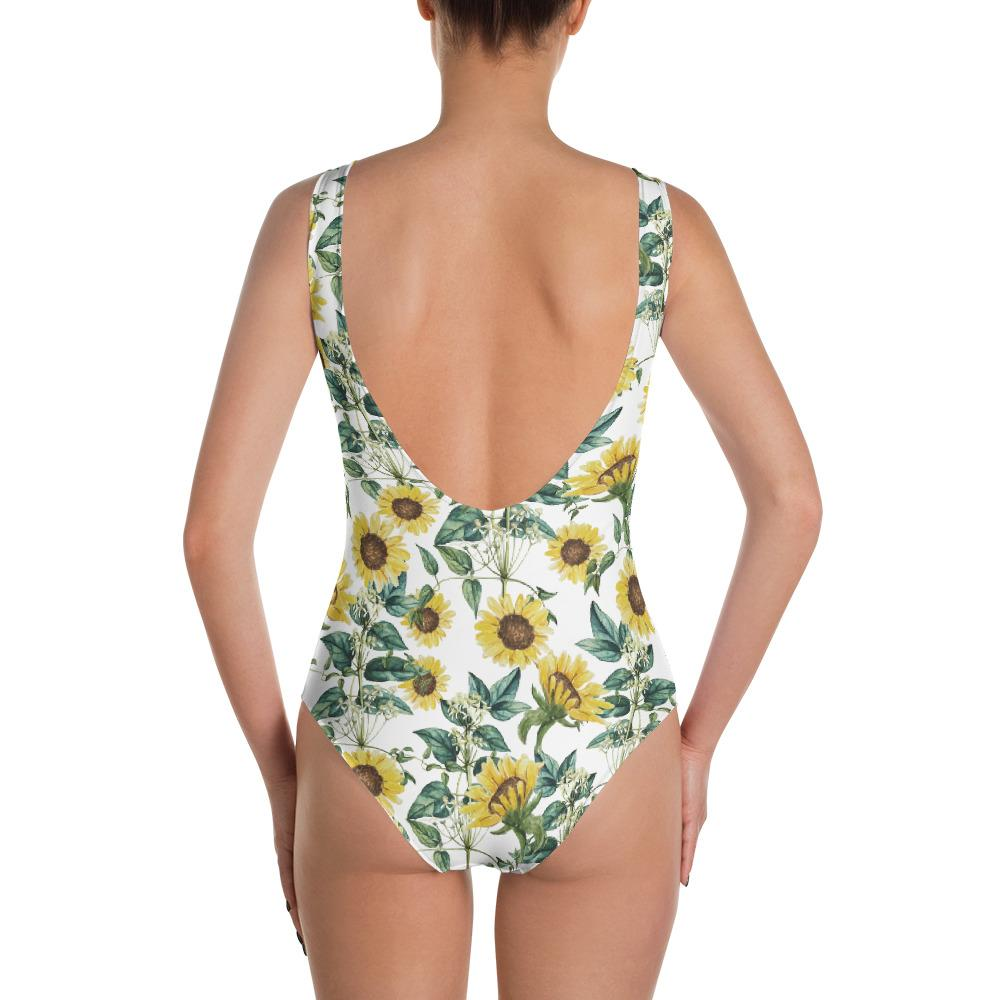 Sunflower Valley One-Piece Swimsuit