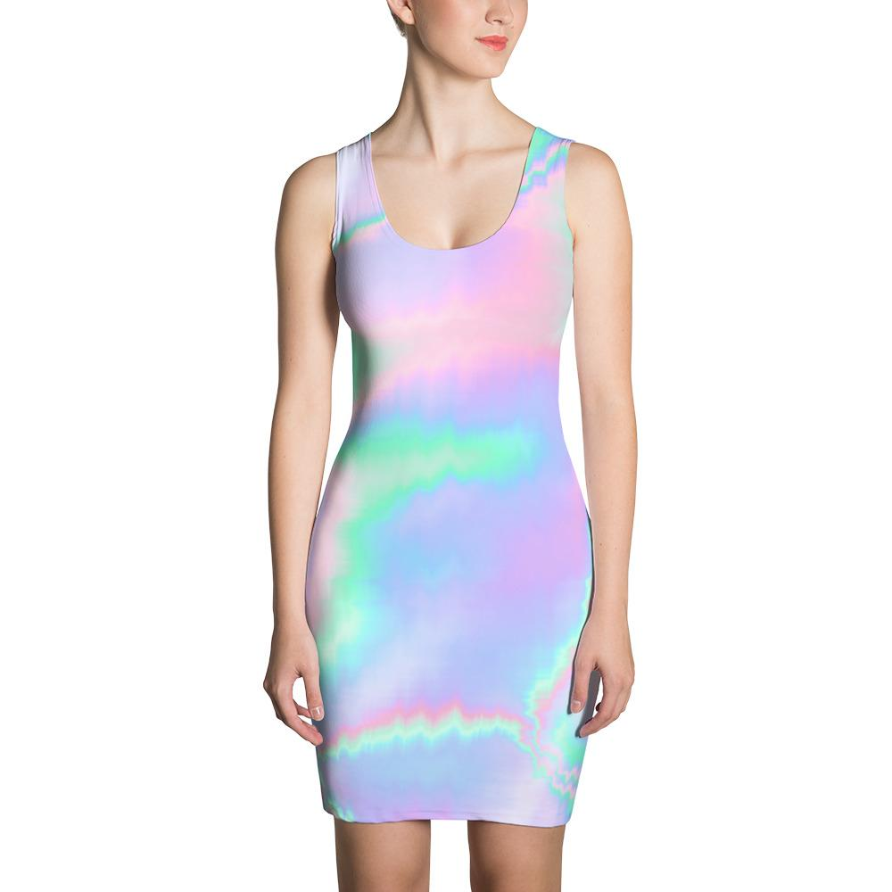 Holograph Sublimation Dress