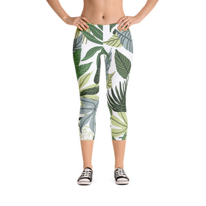 In The Jungle Capri Leggings