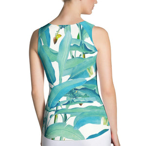 Banana Forest Sublimation Tank Top
