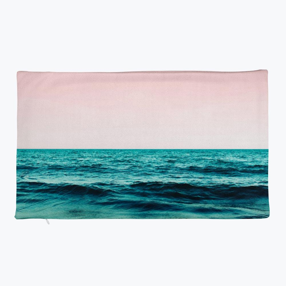 Ocean Love Rectangular Pillow Case only