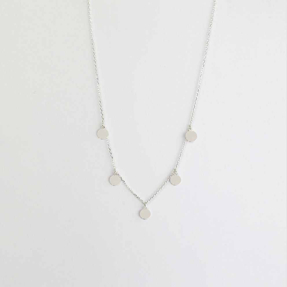 Night Silver Necklace