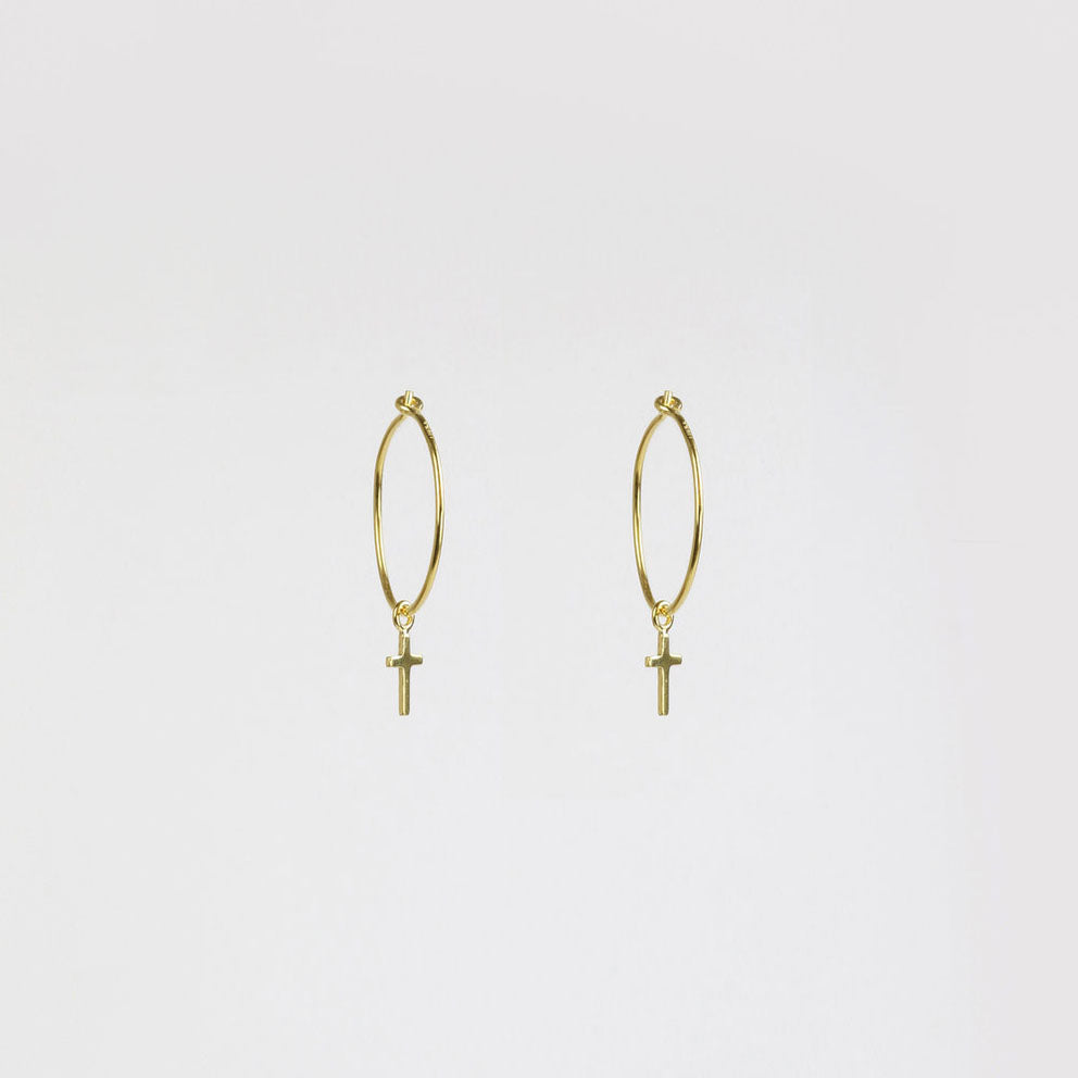 Cruz Gold Earring
