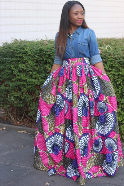 Damilola in our Skirts!