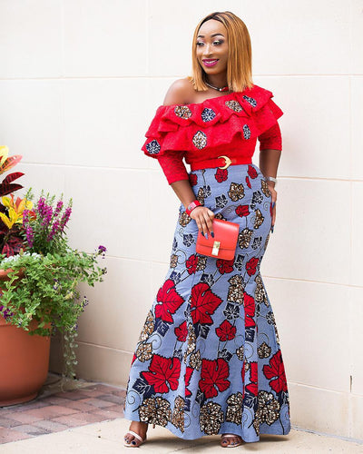 Glam It Up With Chic Ama (@chicamastyle) and her African Inspired outfits!