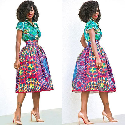 Always Stay On Top With @stylepantry and Her Love For African Fashion!