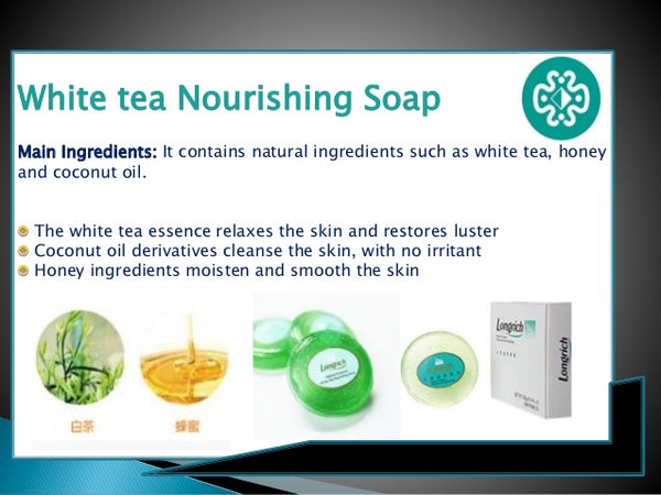 white tea soap longrich