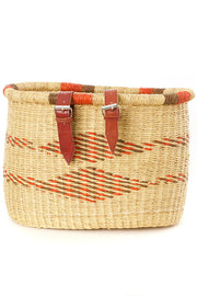 Elephant Grass Bicycle Basket